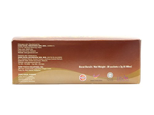 20 Boxes of Gano Café Classic Coffee 30 sachets/box, Instant Black Coffee Enriched with Ganoderma Lucidum Extract by Gano Café (Image #4)