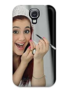 Awesome Ariana Grande Flip Case With Fashion Design For Galaxy S4