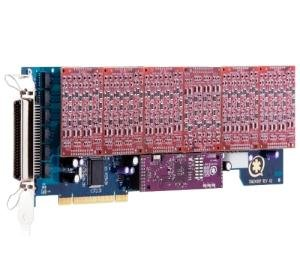 DIGIUM 1AEX2400LF - Digium 1AEX2400LF 24-Port Modular Analog Voice Board - PCI Expre