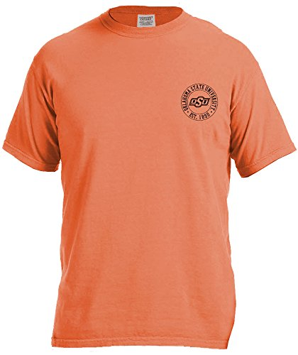 NCAA Oklahoma State Cowboys Campus Building Short Sleeve Comfort Color Tee, ()