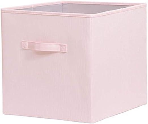 LIANGLIANG - Caja de almacenaje (33 x 37 x 33 cm, Tela Descubierta ...