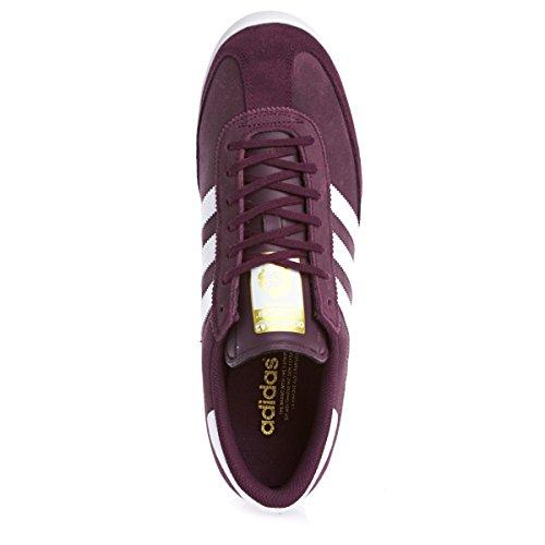 adidas Adidas Beckenbauer - Zapatillas de Piel para hombre Rojo rojo Rojo - marrón