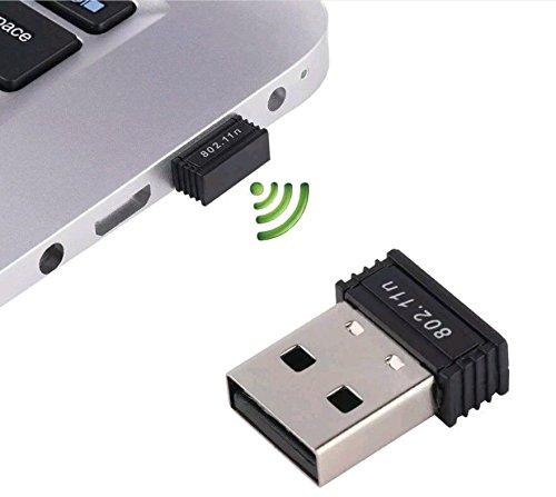 Terabyte 300 MBPS Mini Wireless USB ADAPTOR, 2.4 GHz,WiFi USB Adapter Wifi Dongle for PC