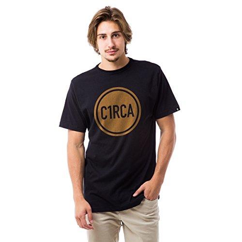 Camiseta Basica C1Rca Circle Din - Preto - G