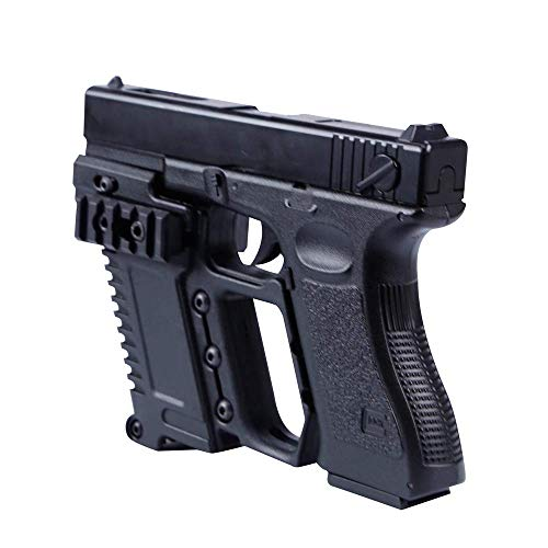 (HAOYUN Tactical Pistol Grip Glove Cover Sleeve Anti Slip Hunting Accessories Party Pistol Gun Holster w/Magazine Torch Pouch for Glock 18 19)