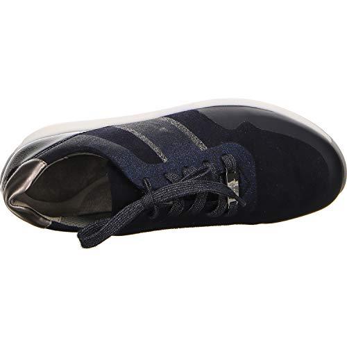 Femme 1234589 Basses 05 blau Iron titan midnight Bleu Osaka Sneakers Ara 6In5Awq