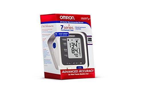 Omron 7 Bluetooth Arm Blood Pressure with Two User - with Alexa