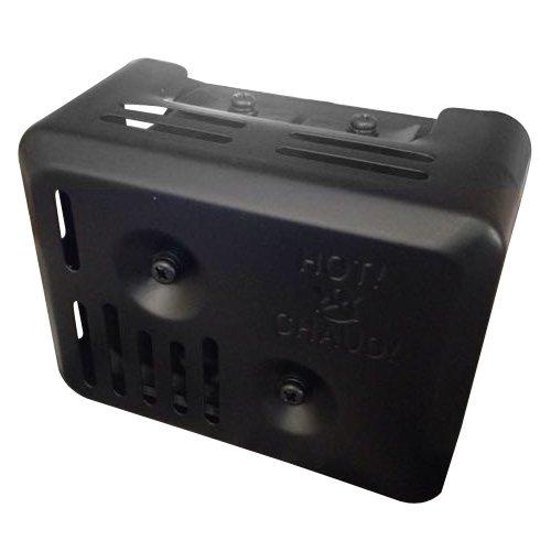 Sodial 60699 Silenciador de Escape con Protector de Calor SODIAL(R) 060699