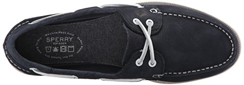 Sperry O 2-Eye Washable, Náuticos Para Hombre Azul (Navy)
