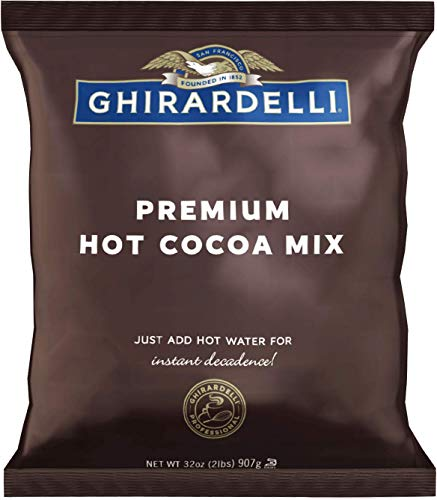 - Ghirardelli Chocolate Premium Indulgence Hot Cocoa Mix, 2 lbs Package