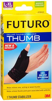Futuro Deluxe Thumb Stabilizer L-XL Moderate, 45844EN - 1 each, Pack of 3