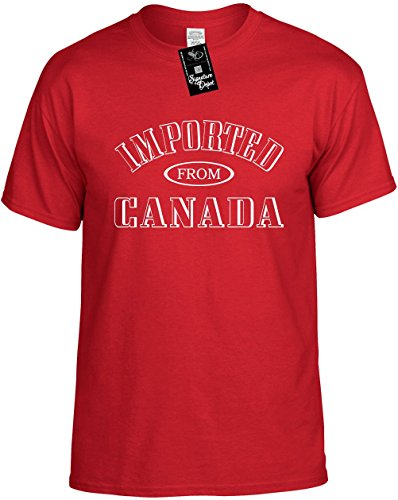 Kids Funny T-Shirt Size M (Imported From Canada) Youth Tee - Mail Usps Canada Priority