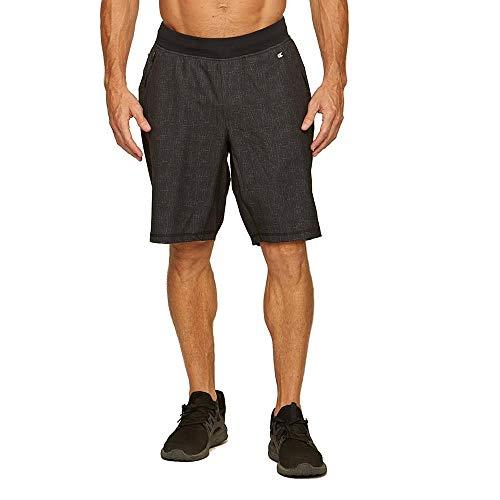 Colosseum Mens Fastback Shorts Black - XL