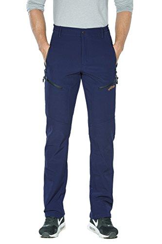 Unitop Men's Winter Water Resistant Snow Ski Pants Blue-1 38/34
