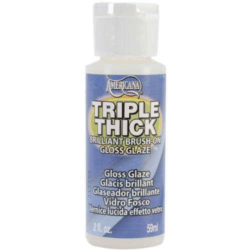 jbr1090 Deco Art� Triple Thick Brilliant Brush-On Glaze - 2oz./Gloss from jbr1090
