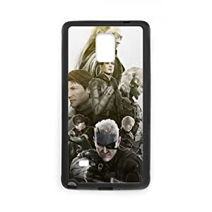 Samsung Galaxy Note 4 Cell Phone Case Black metal Gear Solid Gbzt