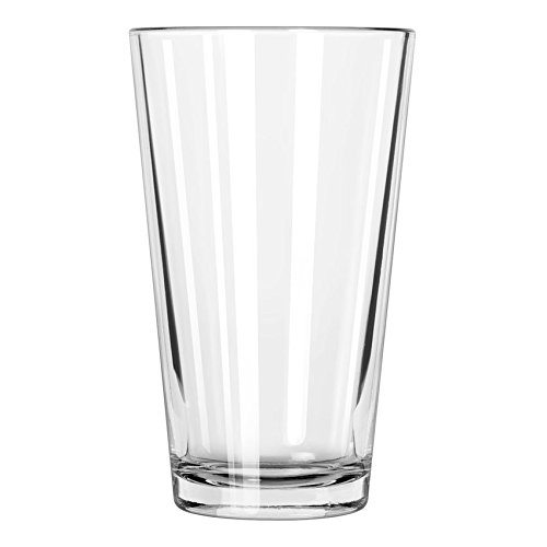 Set of 24 Pint Beer Glass / 16 oz Mixing Glass Libbey (Heat Treated Beverage Mixing Glass)