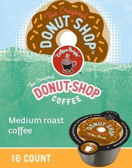 The Original Donut Shop Coffee Vue Packs for Keurig VUE Brewers (128 VUE Packs) by Donut Shop Classics