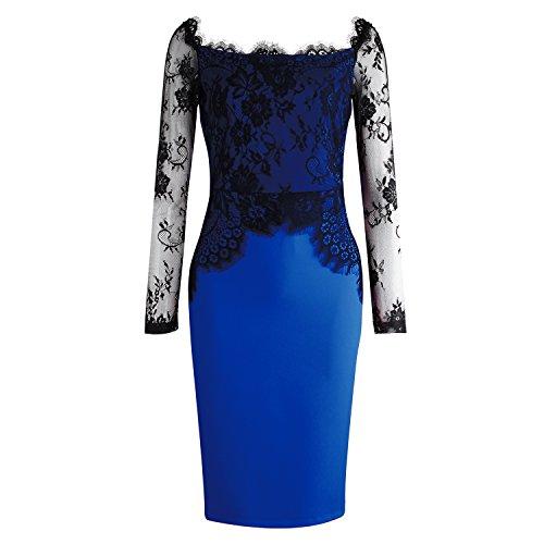 ISASSY - Vestido - para mujer Azul