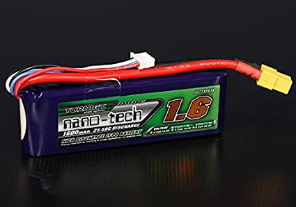 TURNIGY NANO-TECH 1500mAh 2S LIPO BATTERY 7.4V 35C XT60 CAR TRUCK QUAD PLANE RC