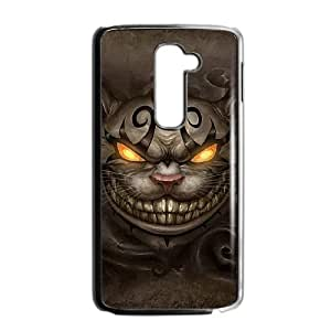 LG G2 Cell Phone Case Black Alice Madness Returns Cheshire Cat G2X7CN