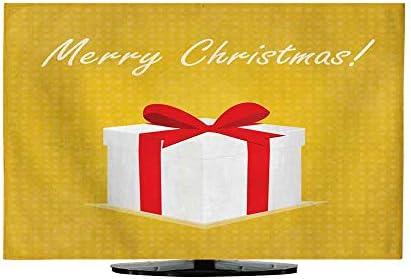 TV Dustproof Cover ClopMerry - Tarjeta de felicitación de Navidad ...