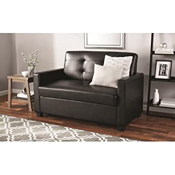 Amazon Com Mainstays Sleeper Sofa With Certipur Us Certified Memory