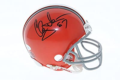 Clay Matthews Cleveland Browns Autographed Riddell Mini Helmet - JSA Certified Authentic