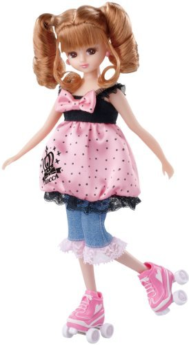 Licca-chan LW-12 Roller skating dress set - Licca Dress Set