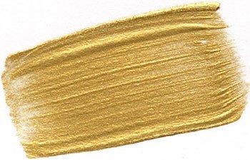 Golden Heavy Body Iridescent Acrylics - Iridescent Gold Deep Fine - 32oz Jar