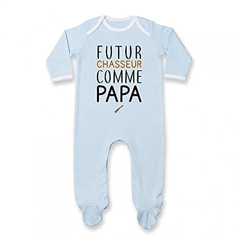 Pyjama bébé Futur Chasseur comme Papa 87