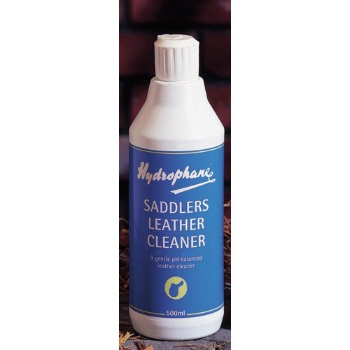 William Hunter Equestrian Hydrophane Saddlers Leather Cleaner - 500ml - removes Dirt and Sweat from Leather
