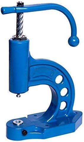 Máquina de Botones, Prensa para Botones a la Poner de Botones / Knopfrohlingen con Tela y Bien Cuero