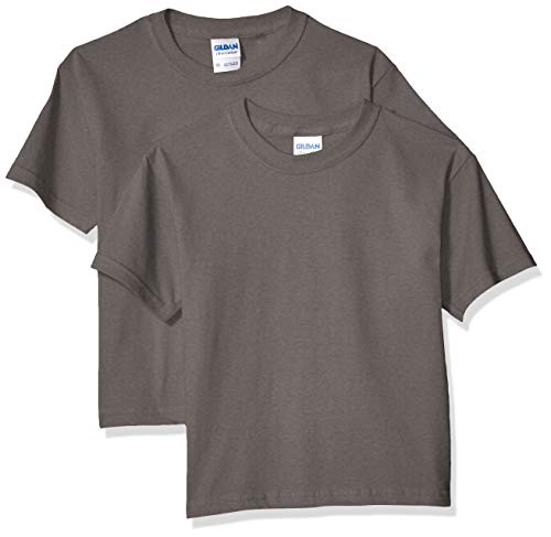 Shirt Youth T-shirt - Gildan Kids' Big Ultra Cotton Youth T-Shirt, 2-Pack, Charcoal, Large