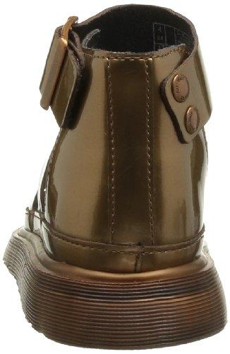 Dr. Martens CLARISSA Spectra Patent COPPER 15704220 - Sandalias de cuero para mujer marrón - Braun (copper)