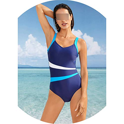 2019 One Piece Swimsuit Women Classic Vintage Swimwear Sliming Push Up Bathing Suit Summer Swimming Suit,Green -