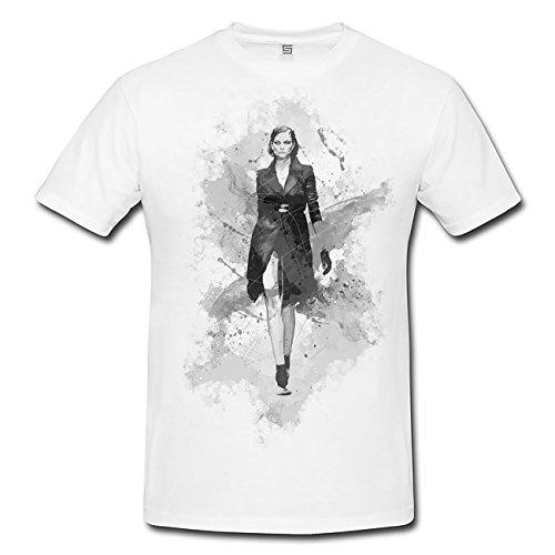 Carwalk T-Shirt Frauen, Mädchen mit stylischen Motiv von Paul Sinus