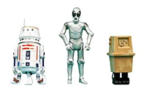 Star Wars Special R5-D4, Death Star Droid, and Power Droid Target Exclusive 3 3/4 Inch Action Figure 3-Pack