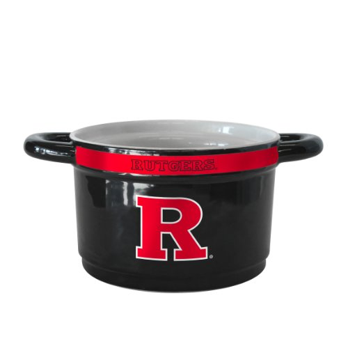 NCAA Rutgers Scarlet Knights Sculpted Gametime Bowl, 23-Ounce