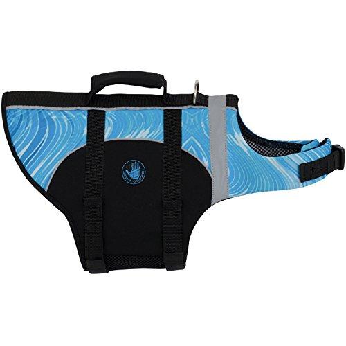 Flotation Pet Vest (Body Glove Pet Flotation Device, Turquoise, Small)