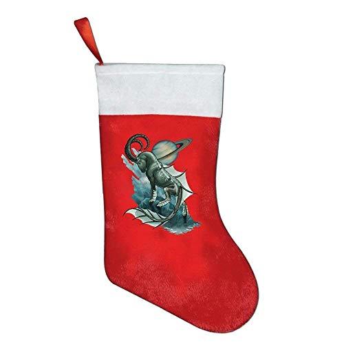 Santa Chef Felt - YISHOW Christmas Stockings Classic Crawfish Chef Camp Cooking Felt Party Accessory Santa Claus Merry Christmas