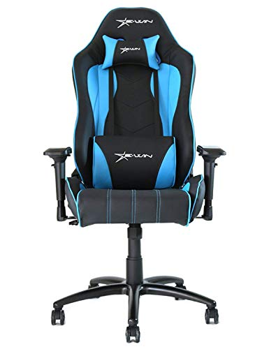 Ewin Gaming Chair Ergonomic Swivel Chair Blue Ewin Chair