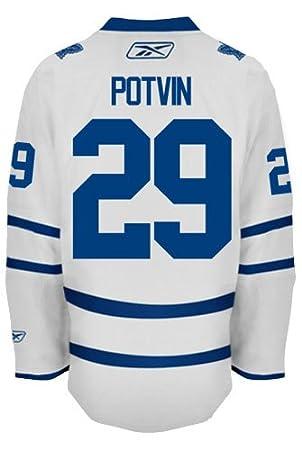 Felix Potvin Toronto Maple Leafs Reebok Premier Away Jersey NHL Replica 1cf922a1a