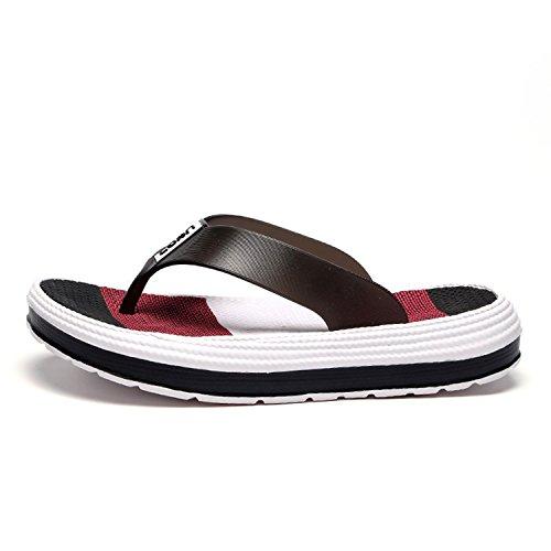 BARKOR Flops Shoes Slide Flip Beach Comfort Black Womens Home Slippers Office in HRxrH75wq