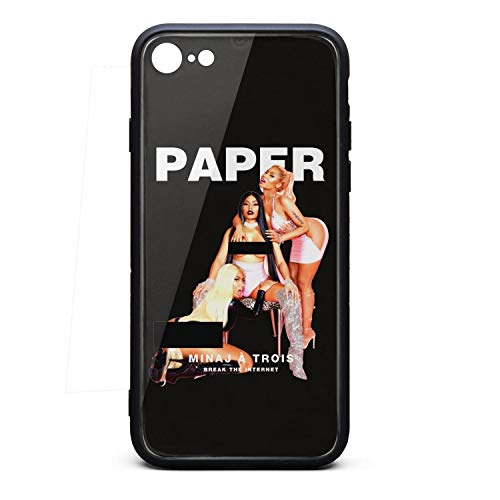 iPhone 6/6sPlus Case Nicki-Minaj-Paper-Magazine- Ultra Slim Case Soft Silicone Rubber Phone Case Cover iPhone 6/6sPlus Case[5.5 Inch] -