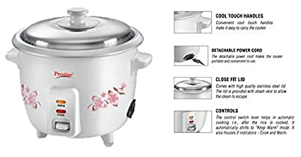3700982337b Image Unavailable. Image not available for. Colour  Prestige Delight  Electric Rice Cooker PRWO ...