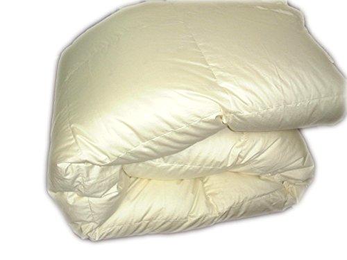 日本製 羽毛肌掛けふとん ハンガリー産ホワイトグースダウン95%多い目にスモールフェザー5% (シングル(150x210cm)0.5kg, オフホワイト) B00OZJVH7M シングル(150x210cm)0.5kg|オフホワイト オフホワイト シングル(150x210cm)0.5kg