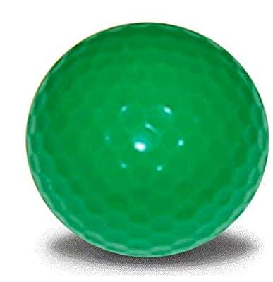 Green Golf Balls 12 Pack