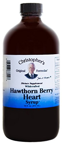 Dr Christopher's Formula Hawthorn Berry Heart Syrup, 16 Fluid Ounce