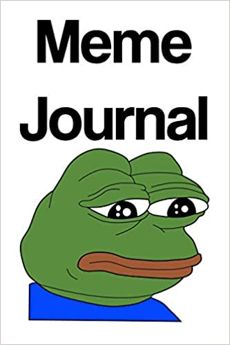 Amazon.com: Meme Journal: PepeHands, Emote, Internet Pop ...